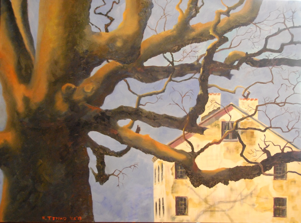 sweetman's oak 2009-2013   36 x 48